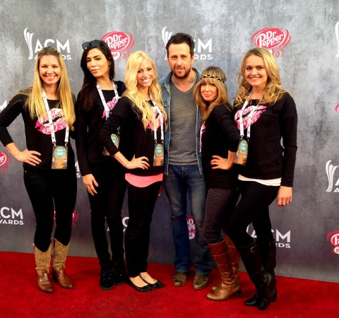 ACM Recording Artists _____ at the ACM Red Carpet Experience